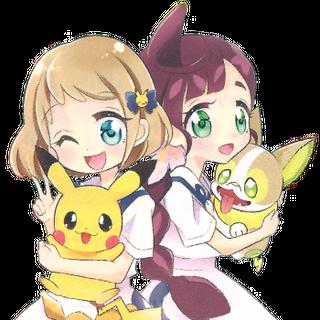 Хлоя и Мика