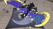 Necrozma absorbing Lunala