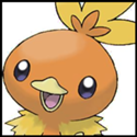 Generation III Button - Torchic