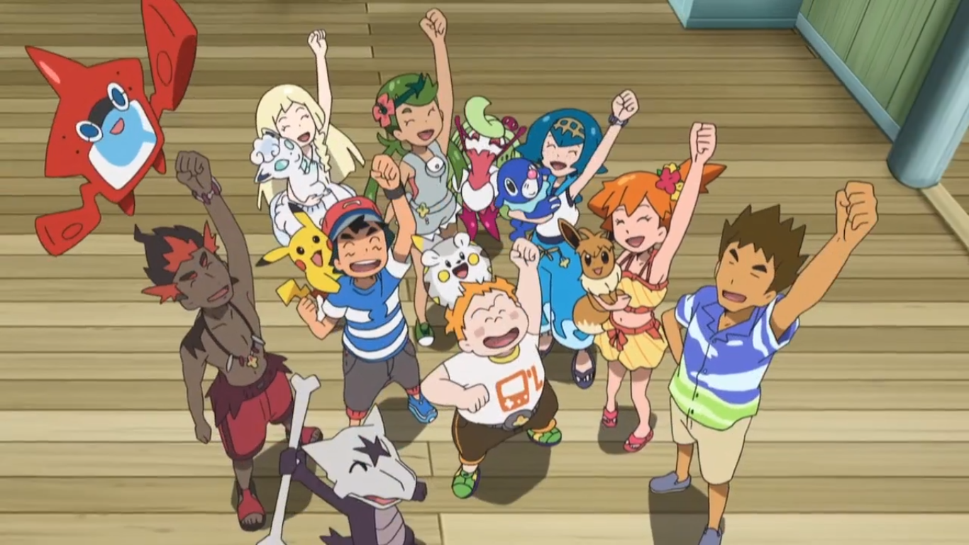 Pictures of all sun and moon pokemon ep wikia