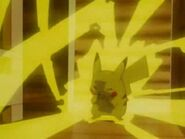 Pikachu's Thunderbolt attempt