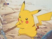 Pikachu with a pick
