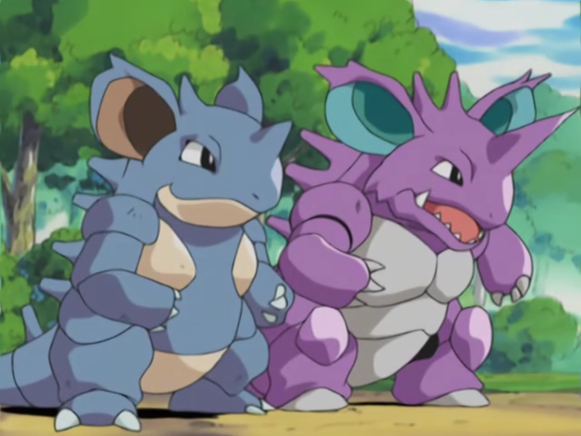 Image result for Nidoking and nidoqueen