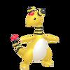 181Ampharos Pokémon HOME
