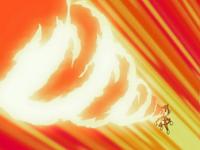 Ash Chimchar Fire Spin