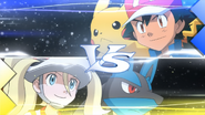 Ash VS Korrina XY030