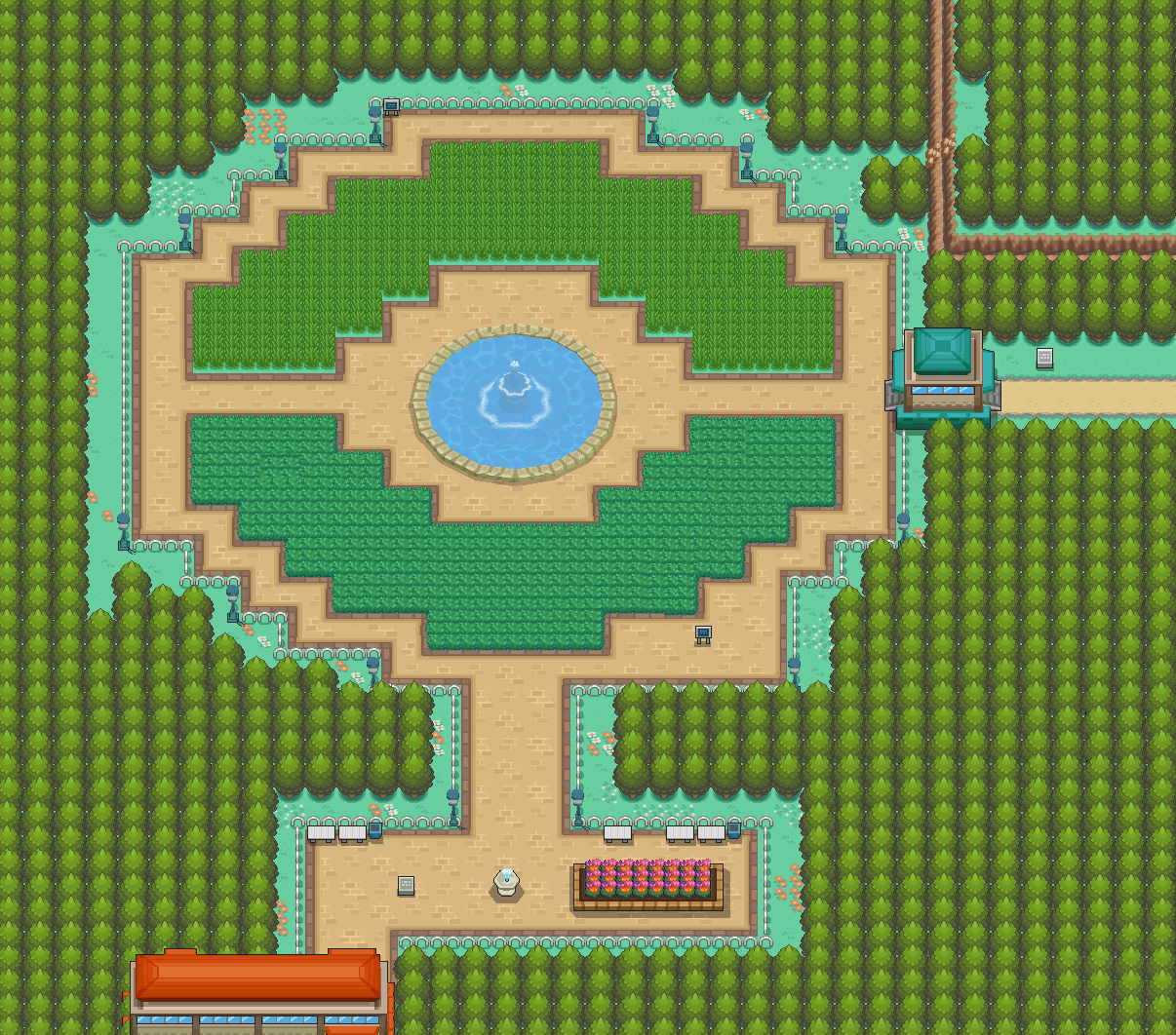 pokemon locations soulsilver
