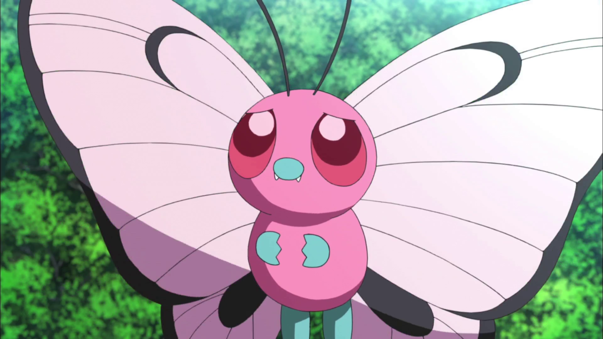 Pink Butterfree Ms020 Pok 233 Mon Wiki Fandom Powered By