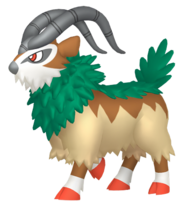 673Gogoat Pokémon HOME