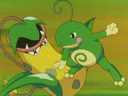 Misty Politoed Double Slap