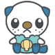 Oshawott-DreamWorld-PokeDoll