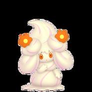 869Alcremie Vanilla Cream Flower Sweet Pokémon HOME