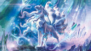 Alolan Ninetales (alt) Sun and Moon Guardians Rising