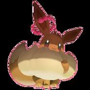 133Eevee Gigantamax Pokémon HOME
