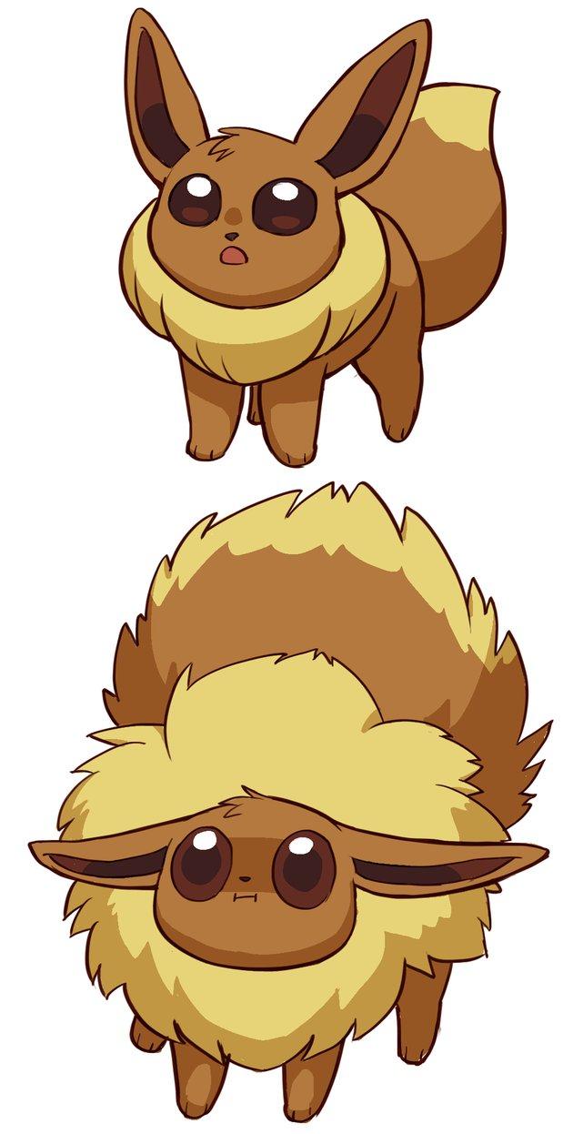 image cute eevee puffed up jpg pokémon wiki fandom powered by