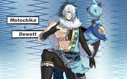 Pokemon Conquest -Motochika with Dewott