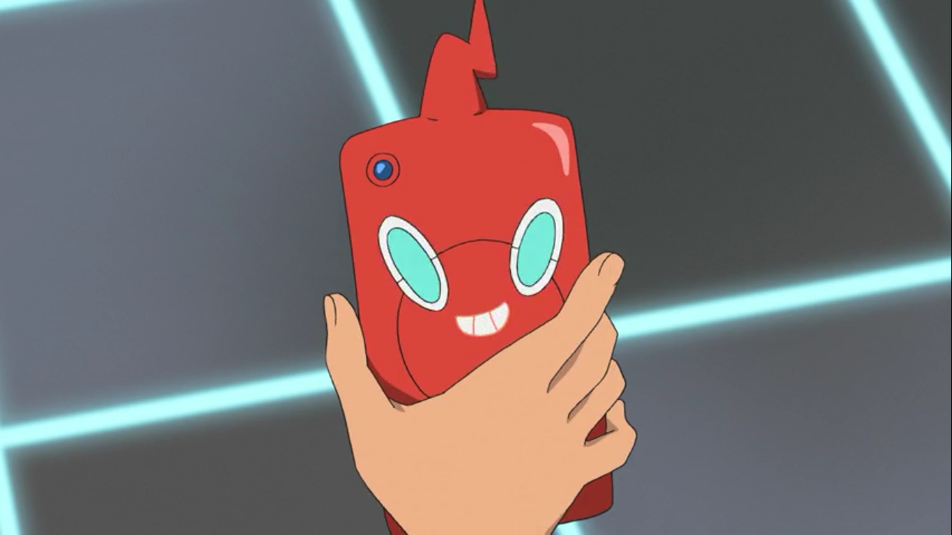 Rotom Phone anime