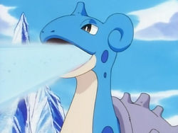 Santa Claus Lapras Ice Beam