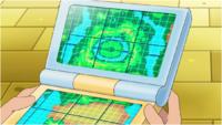 Unova Map Anime
