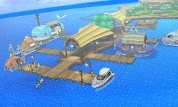 바다민족의 마을