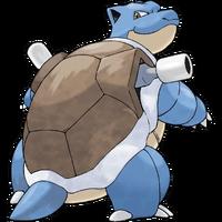 거북왕 공식 일러스트