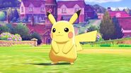 Pokemon Sword & Shield Pikachu in Game