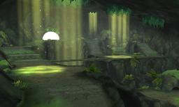 우거진 동굴