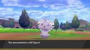 Espurr sword and shield