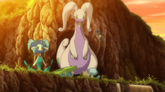 Goodra, Florges and Floette in XY140