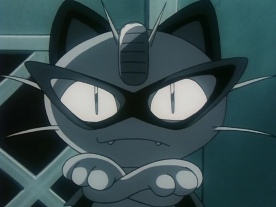 Black Arachnid Meowth