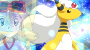 Mega Ampharos anime