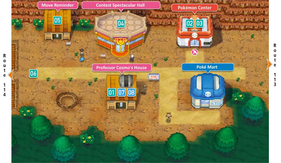 image - fallarbor town oras   pokémon wiki   fandom powered by