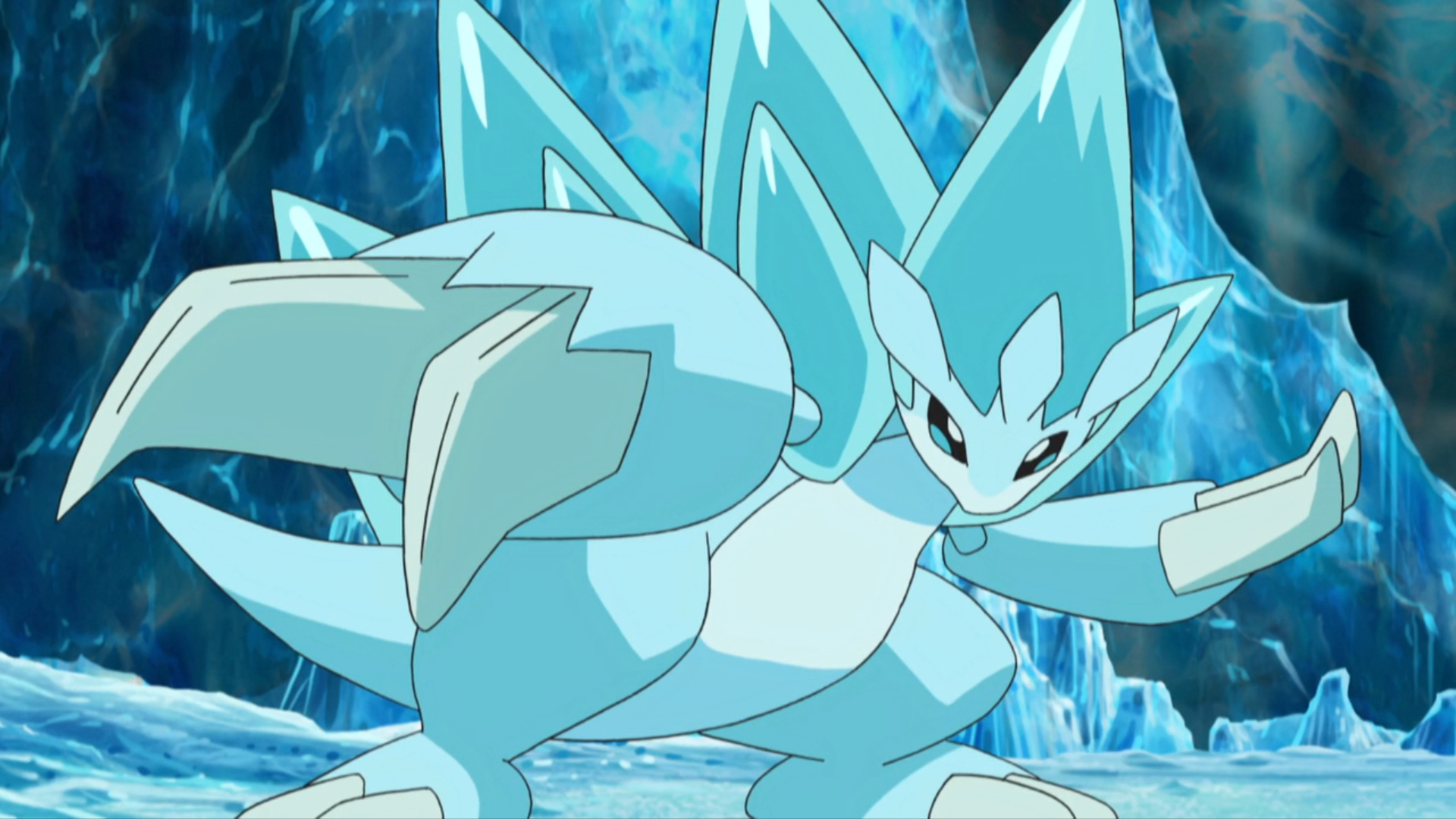 Image result for Alolan Sandslash  Pokemon  anime