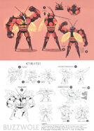Buzzwole SM concept art