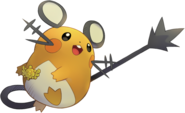 702Dedenne Pokemon Super Mystery Dungeon