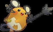702Dedenne Pokemon Super Mystery Dungeon