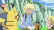 Clemont and Dedenne