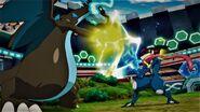 Mega Charizard x vs Ash-Greninja