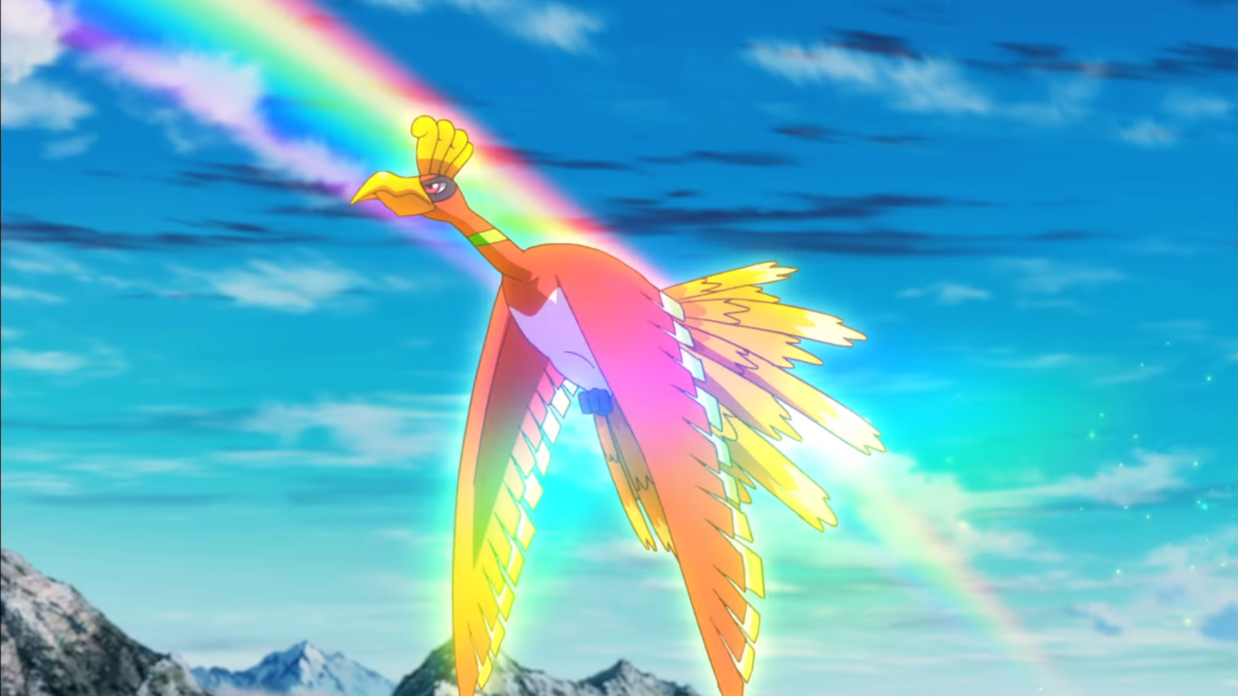 Wing Gold >> Ho-Oh (MS020) | Pokémon Wiki | FANDOM powered by Wikia
