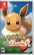 Pokémon Let's Go Eevee Box Art