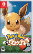 Pokémon Let's Go Eevee Box Art