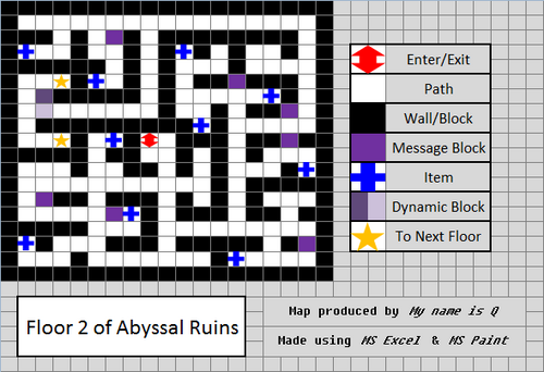 Abysal Ruins Floor 2