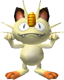 052Meowth Pokemon Stadium