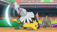 Gladion Silvally Fighting Air Slash