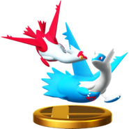 Latias and Latios trophy SSBWU