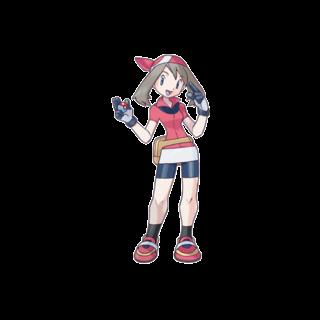 Концепт-арт Мэй для Ruby и Sapphire