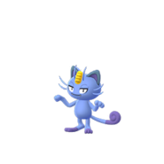 Alolan Meowth GO Shiny