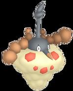 413Wormadam Sandy Cloak Pokémon HOME