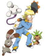 Clemont in XY 2