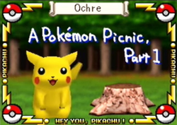 A Pokemon Picnic